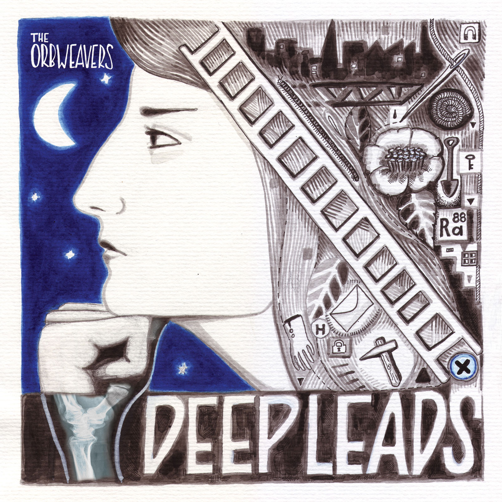 Cover of LP Deep Leads